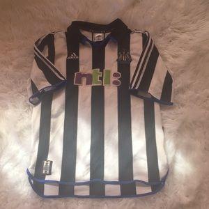 Vintage Newcastle United Football Club Jersey